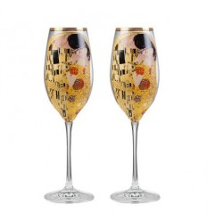 The Kiss  чаши за шампанко