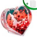 Преспапие с ваша снимка във формата на сърце
