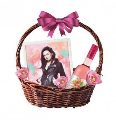 Подаръчна кошница с Портрет