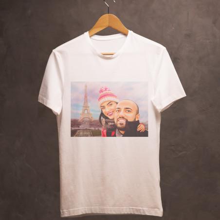 Карикатура върху тениска