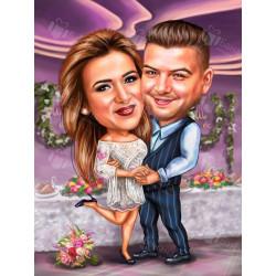 Карикатури за сватба