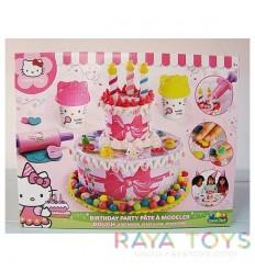 Моделин торта Кити Hello Kitty