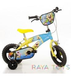 Детско колело Dino Bikes 12 инча Спондж Боб