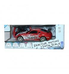 Кола с дистанционно червена
