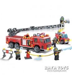 Конструктор пожарна Brick