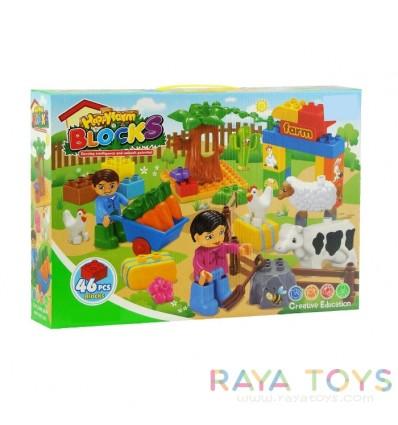 Детски конструктор ферма
