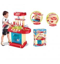 Детска кухня за момче синя
