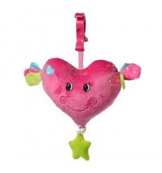 1115 Бебешка плюшена играчка сърце Babyono