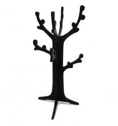 Стойка за бижута boutique, дърво черна