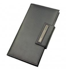Мъжки портфейл от естествена кожа за документи, dulwich desings