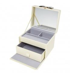 Дамска кутия за бижута от еко кожа, boutique