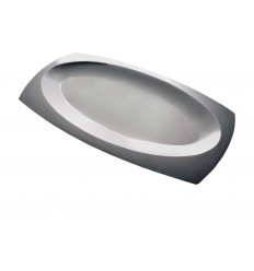 HERDMAR Плато за сервиране - стомана 18/10 - 45 x 25см