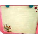 53852 Моята първа дъска за писане и рисуване розова Furkan Toys