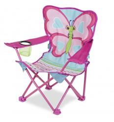 Сгъваемо туристическо столче пеперуда