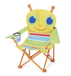 Сгъваемо туристическо столче буболечка