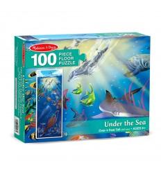 Пъзел Под морското дъно 100 части Melissa and Doug
