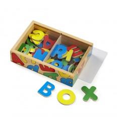 Дървени букви-магнити в кутия Melissa and Doug