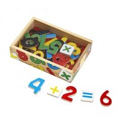 Дървени цифри-магнити в кутия Melissa and Doug