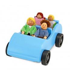 Дървена кола с пътници Melissa and Doug