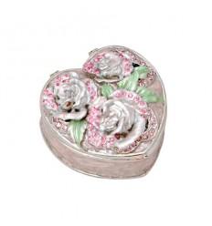 Кутия за бижута роза розова