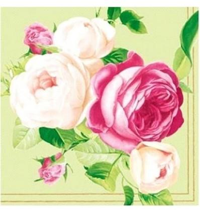 Салфетки рози грийн