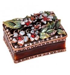 Кутия за бижута кафява