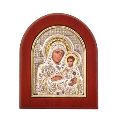 Икона Ерусалимска Богородица злато