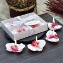 Свещ орхидея 4 бр.