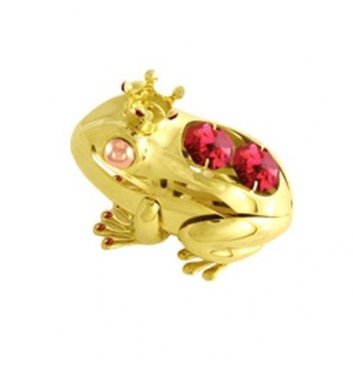 Принцеса жаба златна