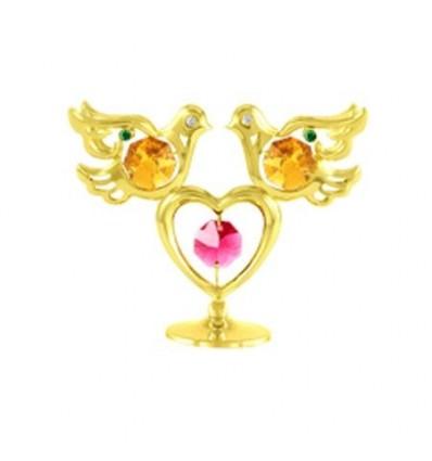 Гълъбче със сърце