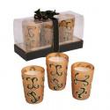 Комплект 3 бр. свещници