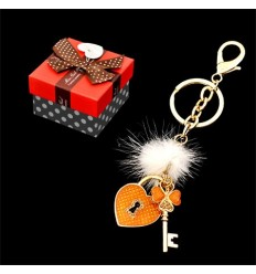 Ключодържател сърце, ключ
