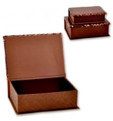 Кутии за бижута Choco - к-т от 2 броя