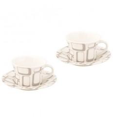 К - т еспресо 2бр.чаши + чинийки