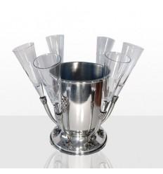 Ледиера с 6 чаши