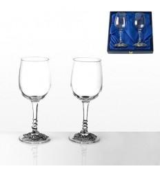 Чаши черв.вино 2 бр.