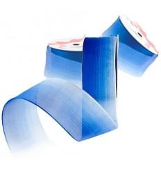 Лента преливащо синьо 38мм.- цена на едро