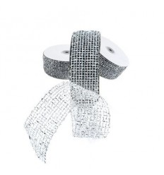 Панделка мрежа сребро - цена на едро