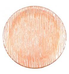 Чиния кръгла карамел