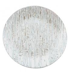 Чиния кръгла сребро