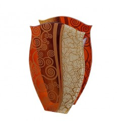 Gold Krakele ваза