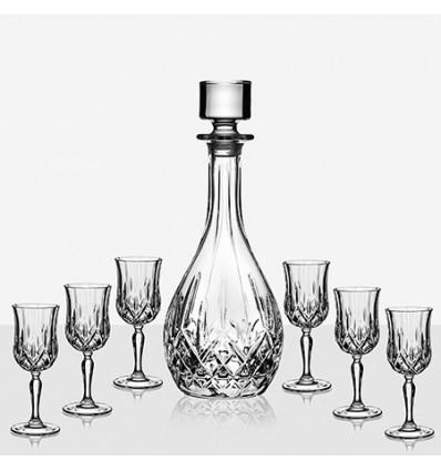 Opera 6 чаши ракия+бутилка