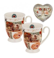 Ангелчета к-кт 2 чаши Royal Mug