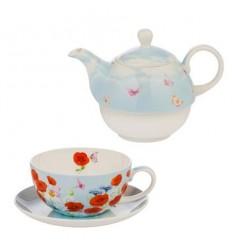 Макове 68 чайник+чаша