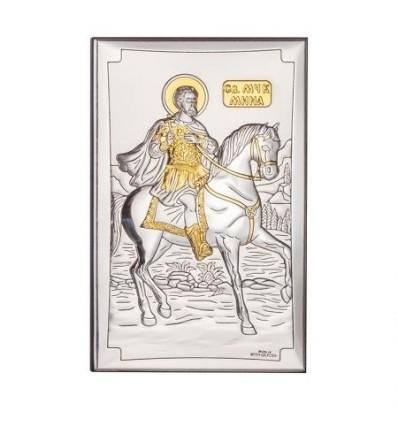 Икона св.Мина злато