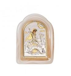 Икона св.Георги стъкло