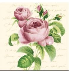 Салфетки рози