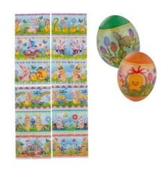 Великденски стикер-бандерол за 12 яйца