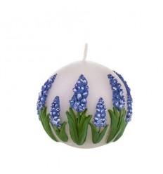 Свещ топка лавандула