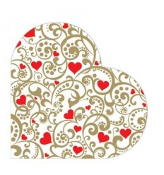 Салфетки сърце